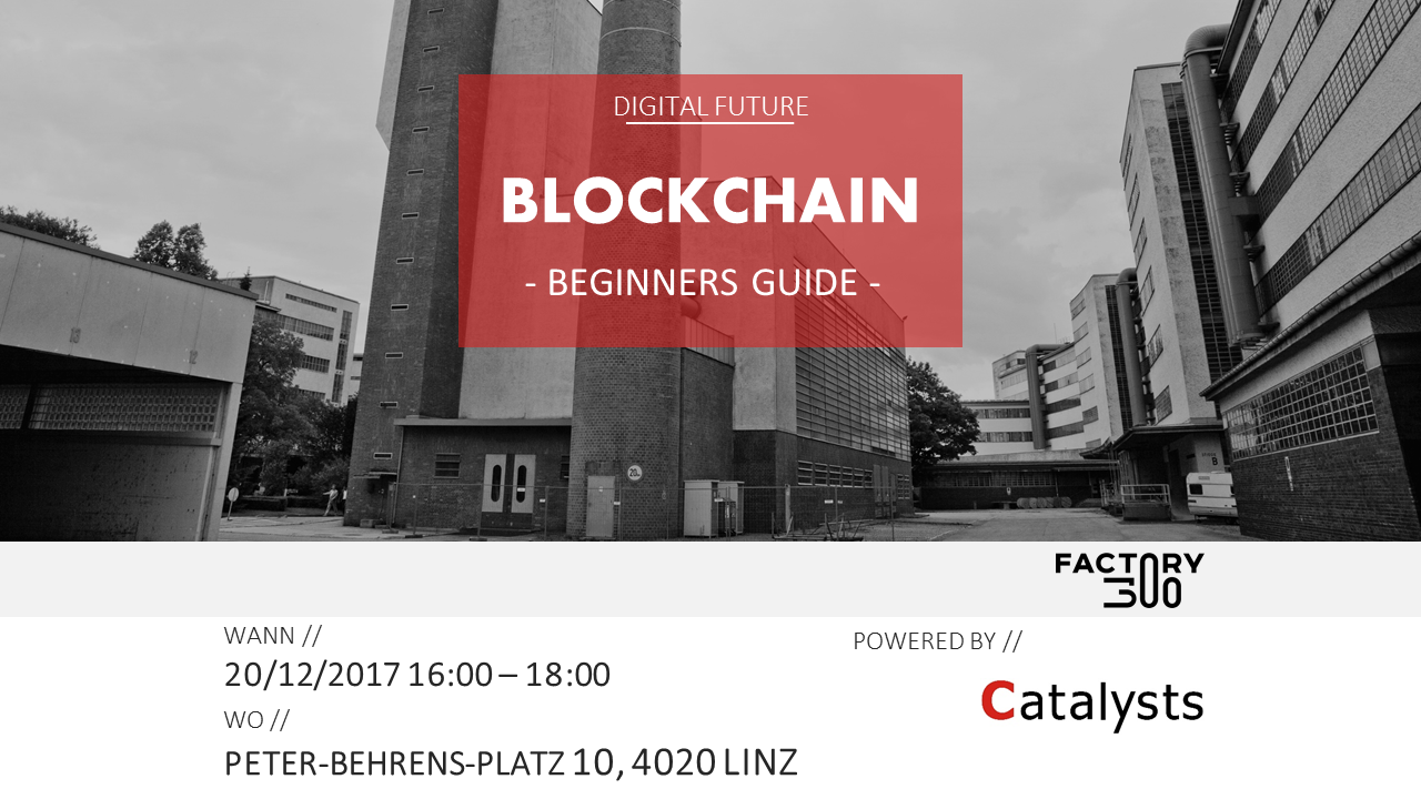 Beginners Guide - Blockchain - powered by Catalysts