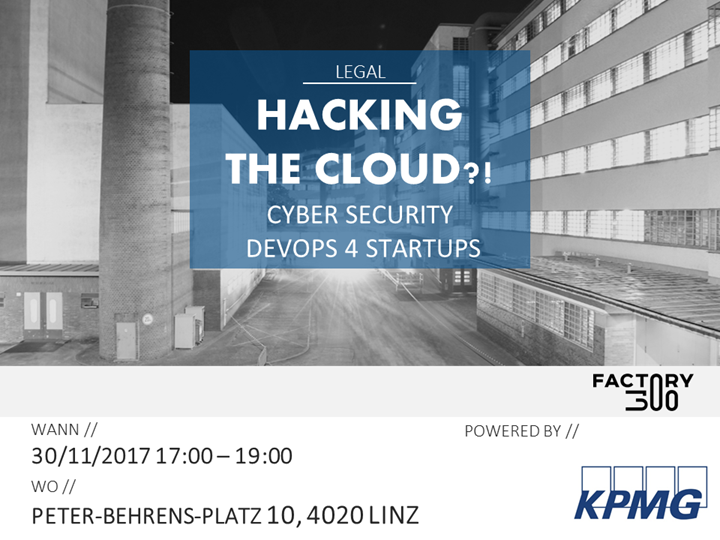 Hacking the Cloud?! Cyber Security DevOps 4 Startups!