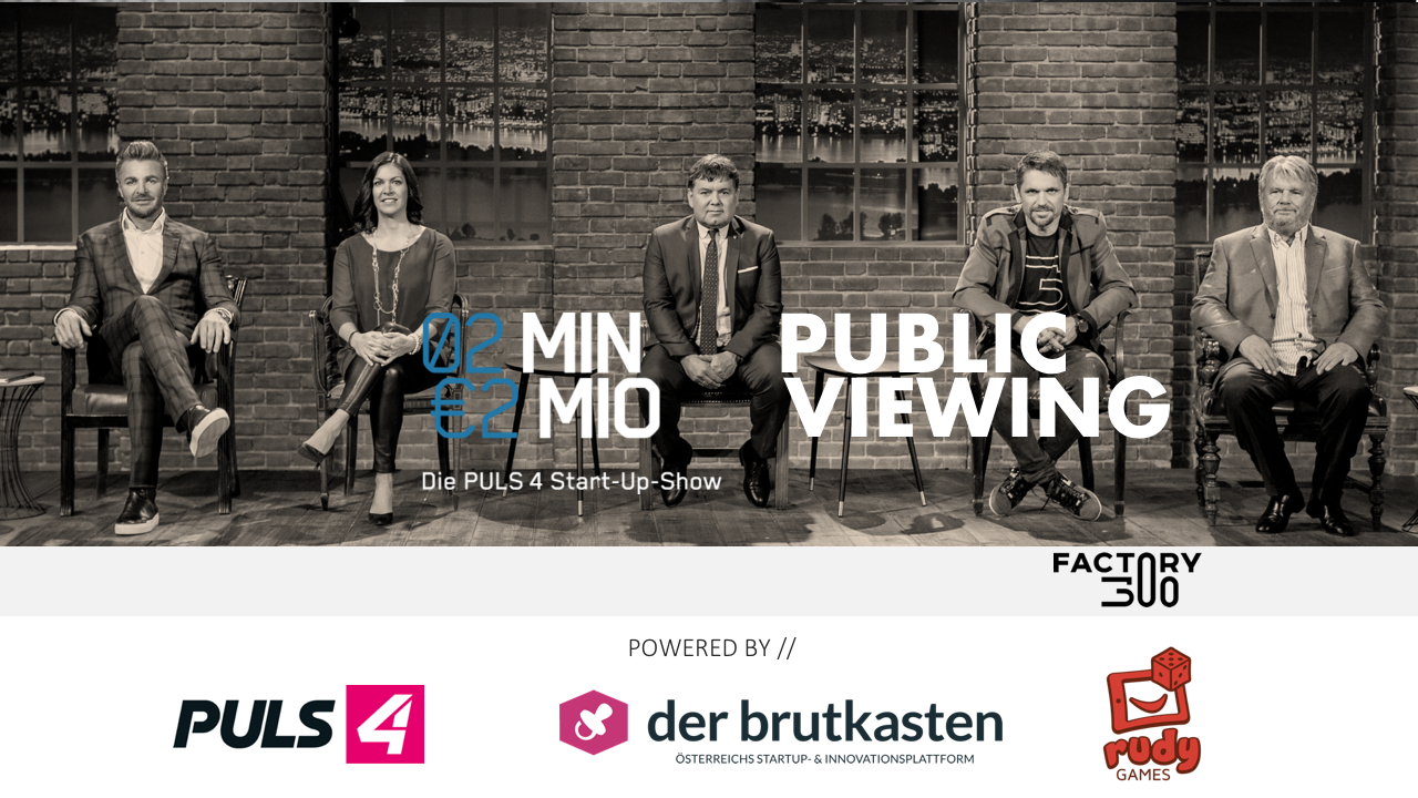 2Min2Mio Public Viewing mit Heinrich Prokop by rudy games