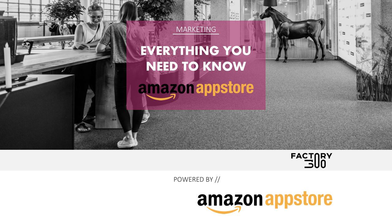 How to market your app (by Amazon)