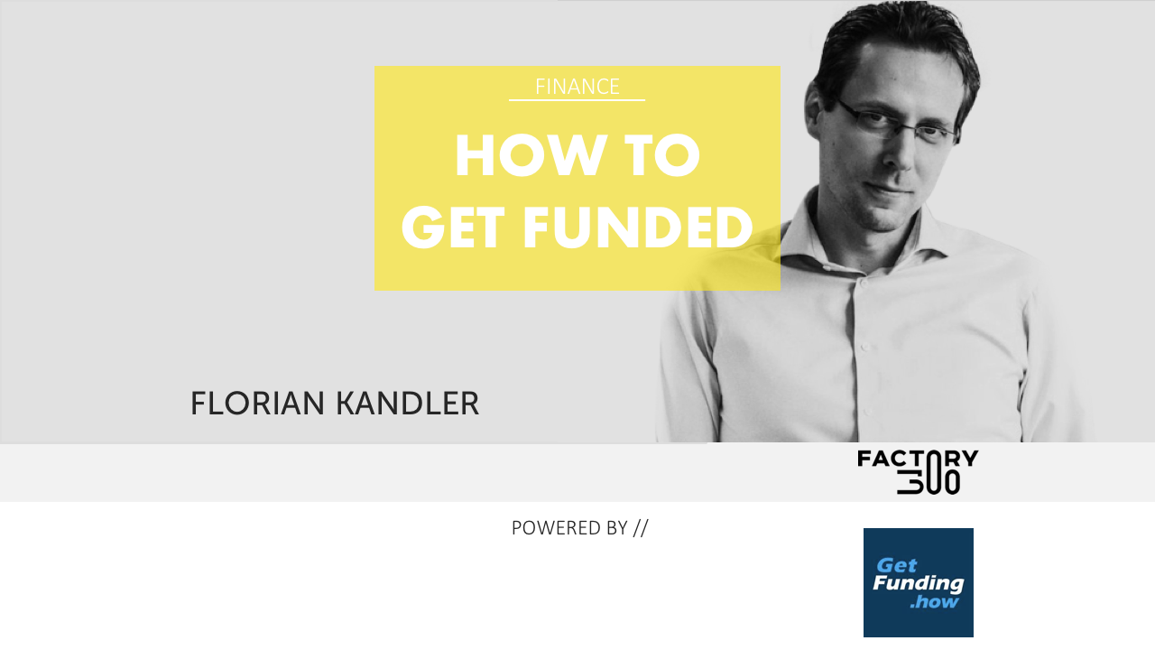 How to get funded