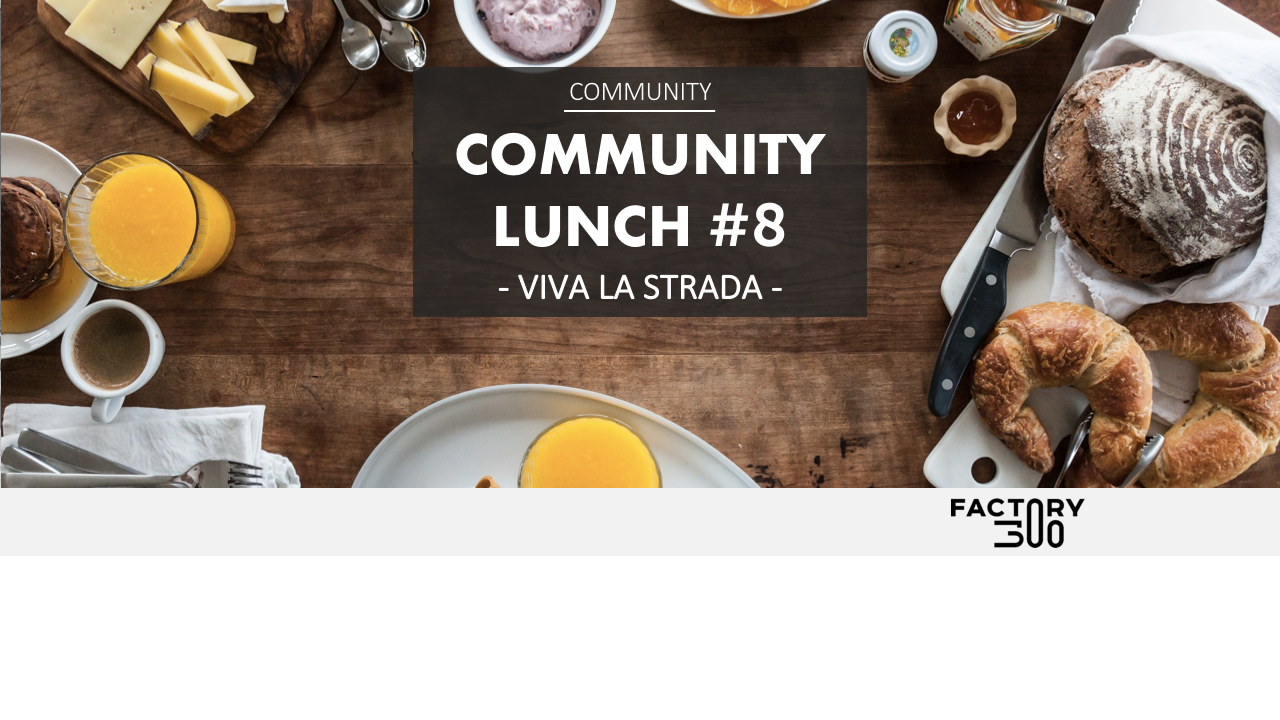 Community Lunch #8